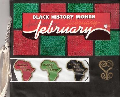 Black History Envelope Book post