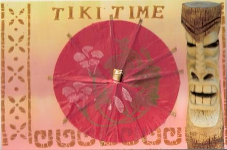Tiki Time Postcard